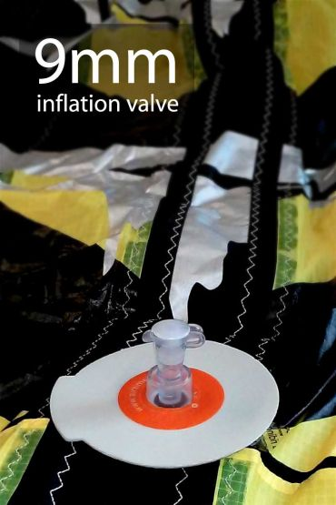 9mm inflation valve