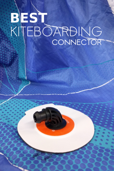 "90 degree Best Kitebaording replacement connector valve ""peel and stick"""