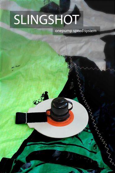 Slingshot onepump speed system inflation valve